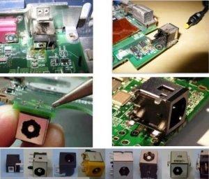 laptop şark soket değişimi tamiri